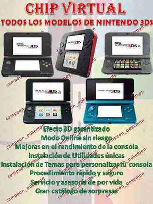 Chip Virtual Consola 3ds
