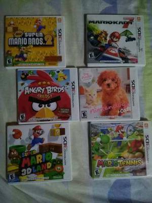 Combo 6 Juegos De Nintendo 3ds Original