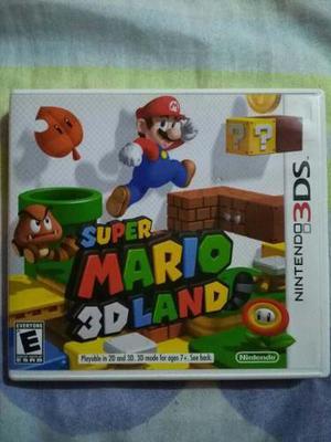 Juego De Nintendo 3ds Original Super Mario 3d Land