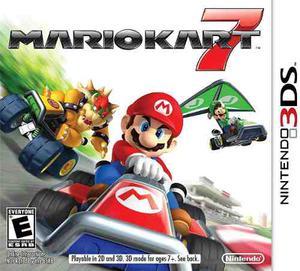 Juego Mario Kart 7 Para Nintendo 3ds Original