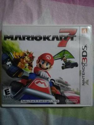 Juego Nintendo 3ds Original Mariokart 7