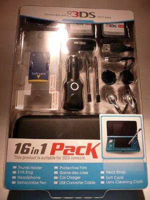 Kit 16 En 1 Para Nintendo 3ds