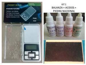 Kit Para Probar Oro Y Plata
