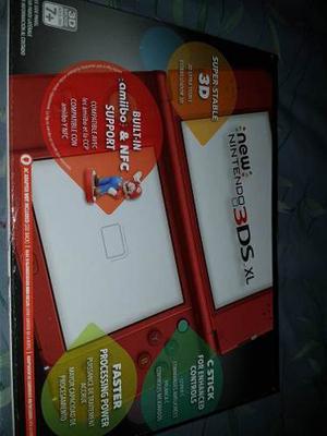 New Nintendo 3ds Xl + 2 Juegos Originales