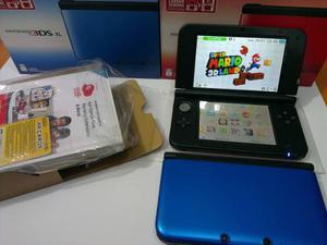 Nintendo 3ds Xl Azul Nuevo Tienda Fisica Con Factura