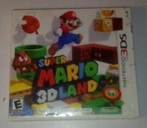 Super Mario 3d Land. Juego Nintendo 3ds Original Usado