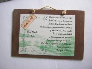 Tablitas Mdf Decorativas Con Mensajes Cristianos