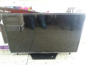 Televisor Smart Tv Tcl 40 Led Roku p 120hz Con Wifi