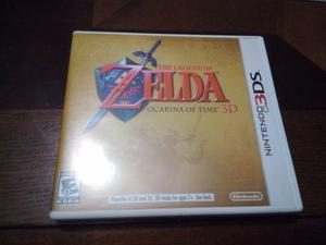 The Legend Of Zelda Ocarina Of Time 3d (juego Físico)