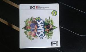Video Juego The Sims 3 Nintendo 3ds Originales