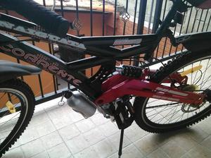 bicicleta montañera corrente