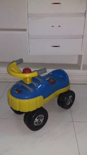 Carro Zapato Montable Para Niños Con Pito En El Volante