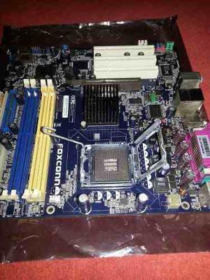 Combo Tarjeta Madre 775 Foxconn + Pentium D 820 Y 1gb Ram