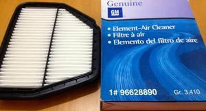 Filtro De Aire Motor Chevrolet Captiva Original Gm