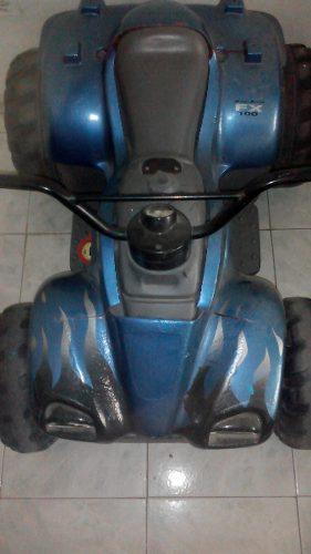 Moto 4 Ruedas Bateria Niños