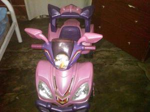 Moto De Batería Para Niñas
