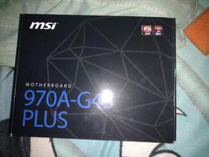 Tarjeta Madre Gaming Msi 970 Pro Carbón Ddr3 Nueva