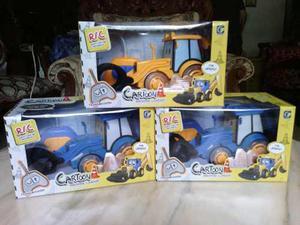 Tractor Para Niños A Control Remoto Con Musica Y Luces