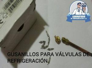 Gusanillos Para Válvulas De Servicios (refrigeración)