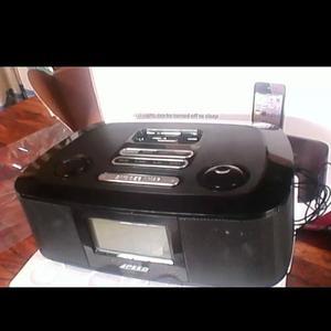Iwake Fm Radio Reloj Despertador Iphone Y Ipod