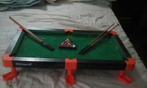 Mesa De Mini Pool Para Niños Juguete