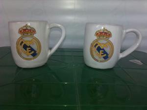 Taza Real Madrid Fútbol Café O Te