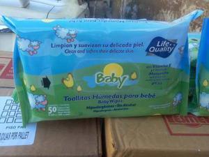 Toallitas Humedas De 50 Con Vitamina E Baby Life Cuality