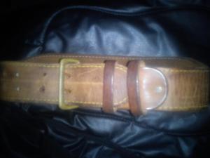 Cinturón de Pesas