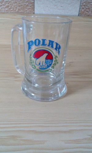 Jarra De Cerveza. Vaso. Polar.
