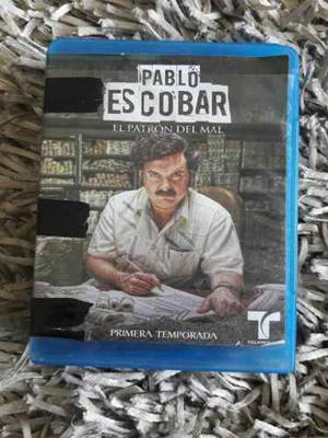 Primera Temporada De Serie Pablo Escobar Completa Blue Ray