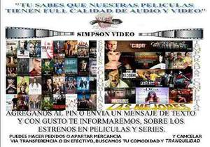 Series 100 % Originales Y Películas Calidad Garantizada
