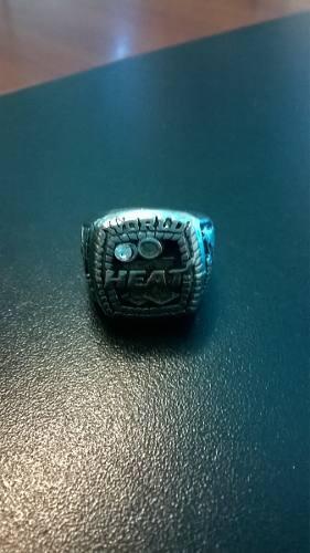 Anillo De Campeon Nba  Miami Heat