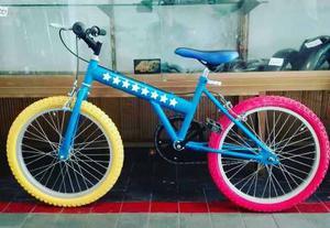 Bicicleta Garpersport Rin 20 / Rines De Aluminio