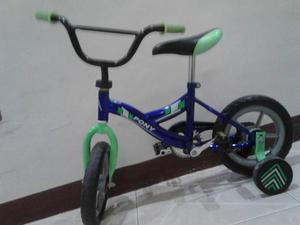 Bicicleta Rin 12 Color Verde Como Nueva