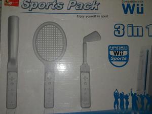 Combo 3 En 1 Para Wii Nuevo