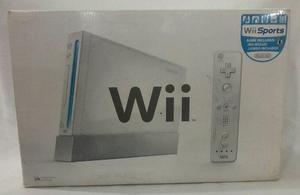 Consola Nintendo Wii + 2 Juegos Originales + Guitarra