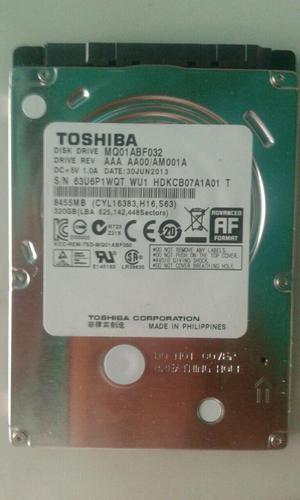 Disco Duro Laptop Toshiba 320gb Sata