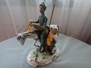 Don Quijote Porcelana De La Misma Casa Capo Dimonte Italia