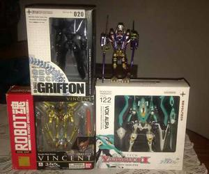 Figuras Revoltech Evangelion Robot Spirits Gundam