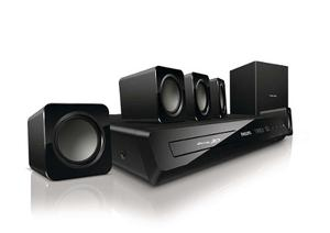 Home Theater 5.1. Y Blu Ray Philips Hts/f7