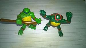 Juguetes Coleccionables Mc 2 Piezas De Las Tortugas Ninjas
