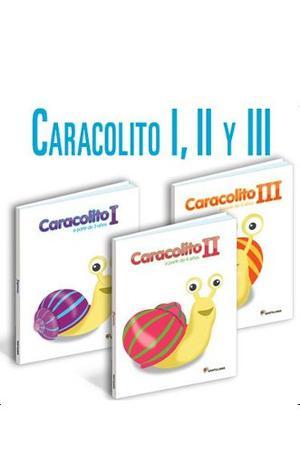 Libro Caracolito 1, 2 Y 3 Editorial Santillana