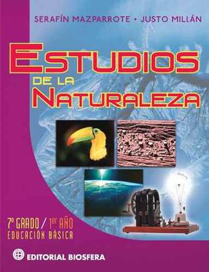 Libro Estudio De La Naturaleza Autor Serafin Mazparrote