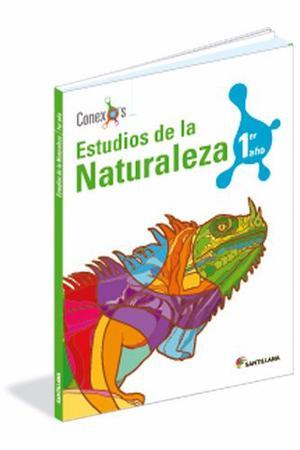 Libro Estudio De La Naturaleza Edit Santillana Serie Conexos