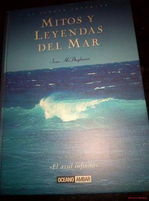 Libro Mitos Y Leyendas Del Mar. Como Nuevo