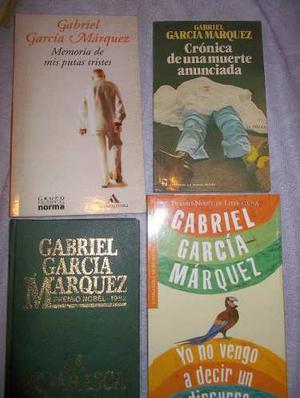 Libros En Físico De Gabriel García Márquez