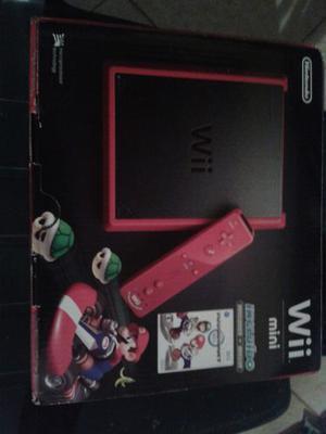 Mini Wii Rojo Edicion Especial Completamente Nuevo