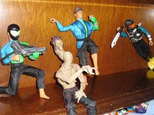 Muñecos Max Steel Con Accesorios