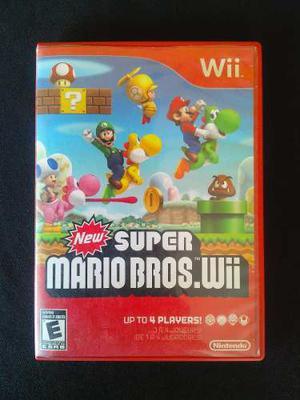 New Super Mario Bros Original Wii Y Wii U.