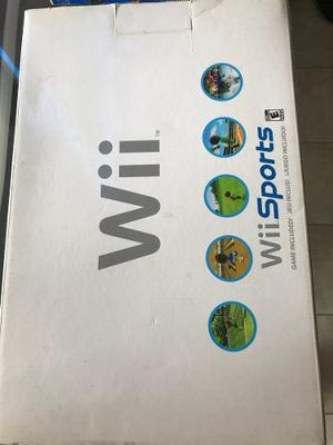 Nintendo Wii, En Su Caja Y Excelentes Condiciones